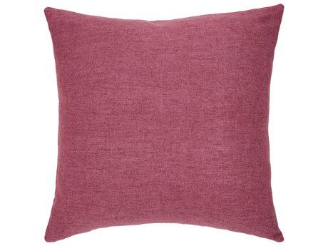 Aico Furniture Michael Amini Dublin Raspberry Decorative Pillow