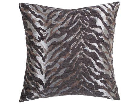 Aico Furniture Michael Amini Cache Silver Decorative Pillow AICBCSDP22CACHESLV