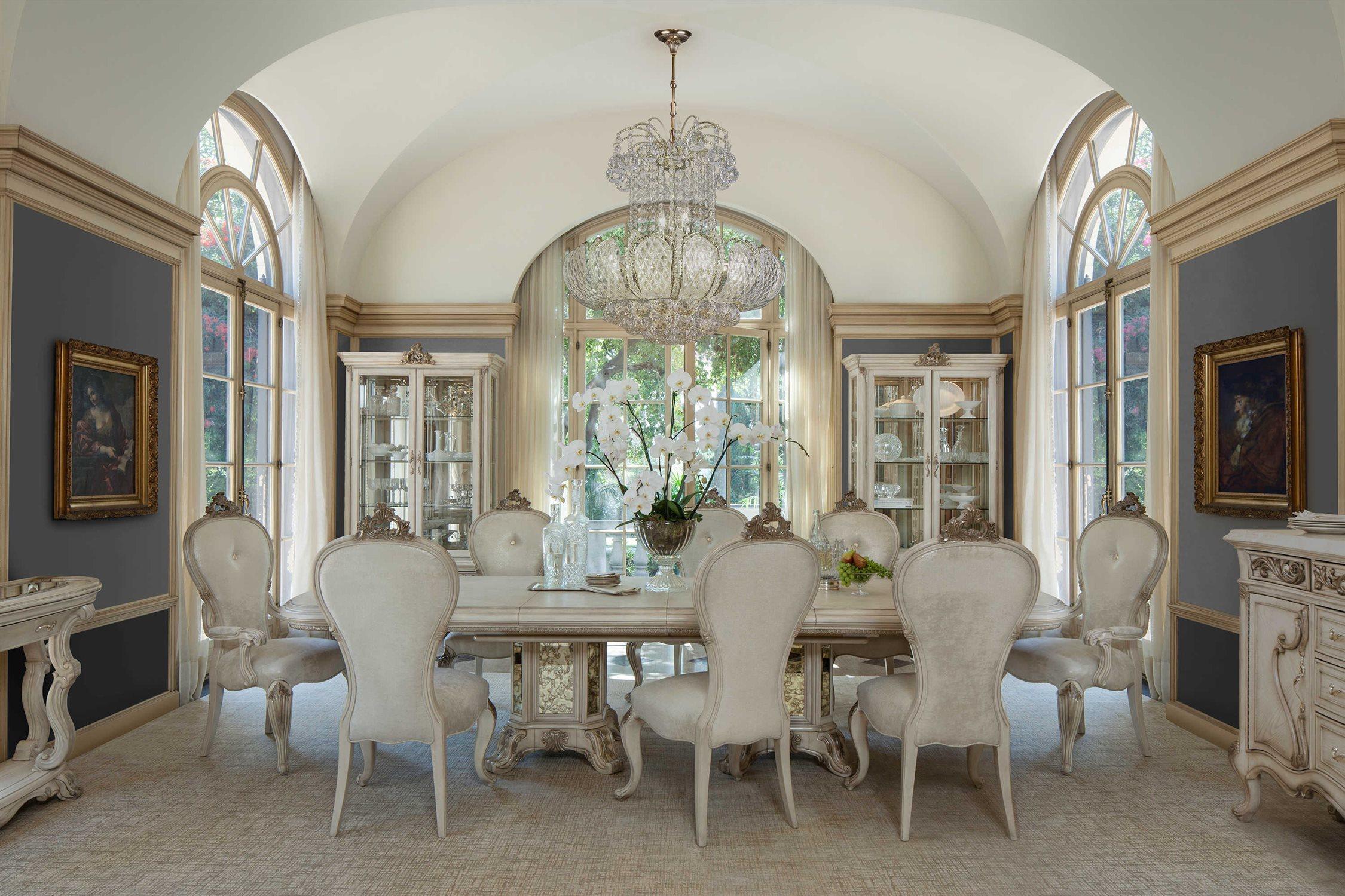 AICO Furniture Platine De Royale Dining Room Set