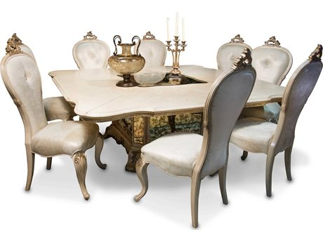 AICO Furniture Platine De Royale Dining Room Set AIC09304201SET