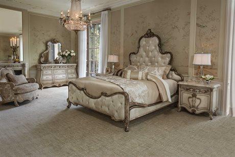 AICO Furniture Platine De Royale Bedroom Set AICN09000QNPL3101SET