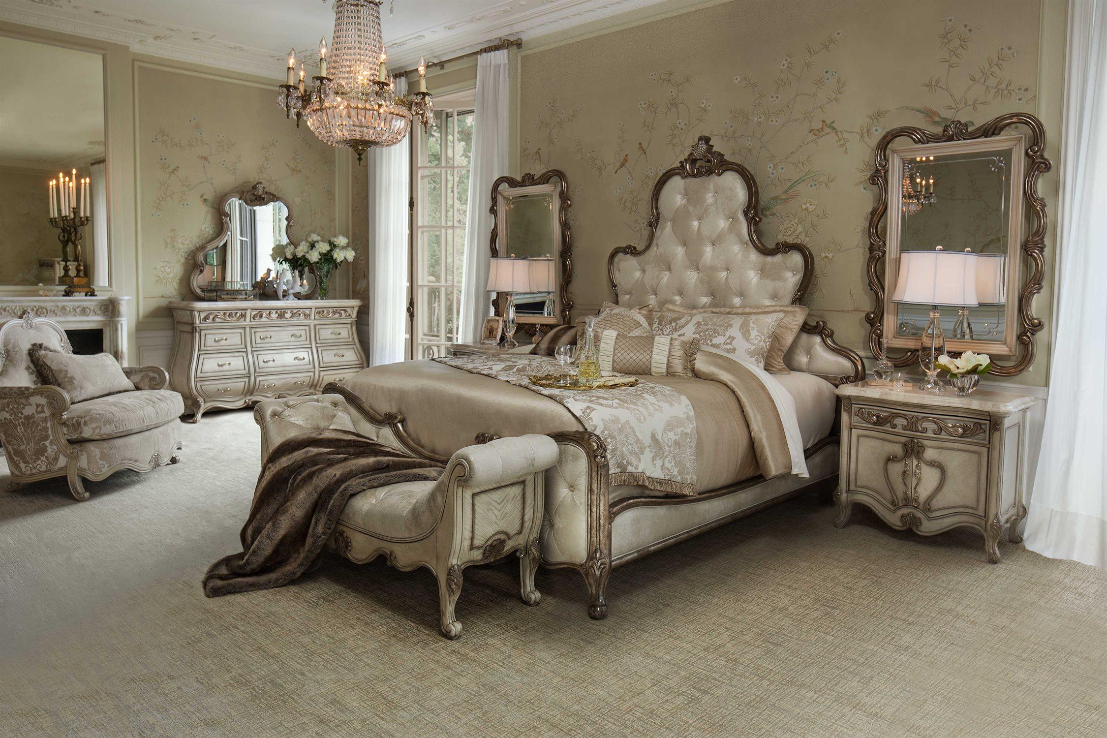 Aico Bedroom Set   Aico Furniture Platine De Royale Bedroom Set