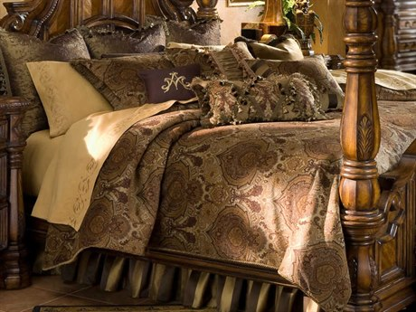 AICO Furniture Pontevedra Comforters AICBCSKS13PNTVDAOLV