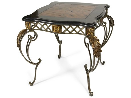 Aico Furniture Michael Amini Sanchez 28'' Wide Square End Table