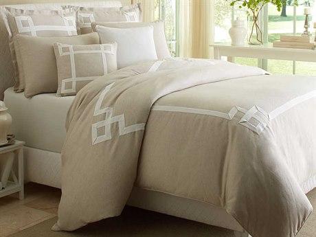 AICO Furniture Simplicity Duvets AICBCSQD07SMPLCNAT