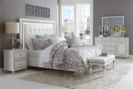 AICO Furniture Sky Tower Bedroom Set AIC9025600CK108SET