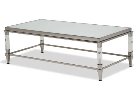 AICO Furniture State St 55'' Wide Rectangular Coffee Table