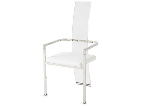 AICO Furniture State St Arm Dining Chair AIC9016004A116