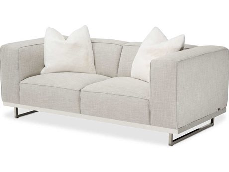AICO Furniture Tempoii Loveseat Sofa AICTRTEMPOII25ASH13