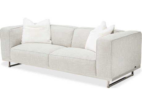 AICO Furniture Tempoii Sofa Couch AICTRTEMPOII15ASH13