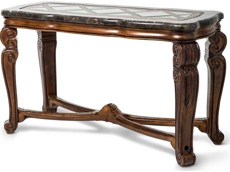 Aico Furniture Michael Amini Tuscano Melange 52''W x 22''D Rectangular Console Table AIC3420334