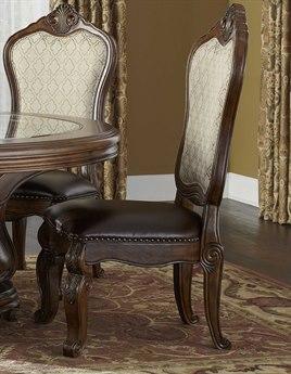 Aico Furniture Michael Amini Tuscano Melange Dining Side Chair AIC3400334