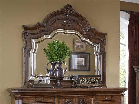 Aico Furniture Michael Amini Tuscano Melange 54'' Wide Dresser Mirror AIC3406034