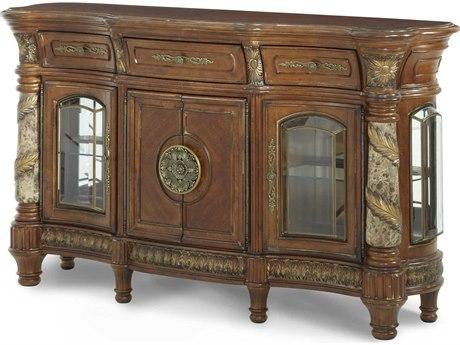 Aico Furniture Michael Amini Villa Valencia Classic Chestnut Sideboard AIC7200755