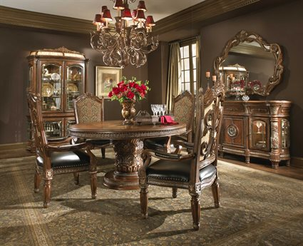 AICO Furniture Villa Valencia Dining Room Set AIC7200155SET