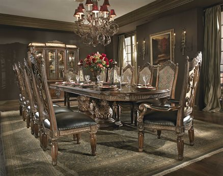 AICO Furniture Villa Valencia Dining Room Set AIC7200255SET