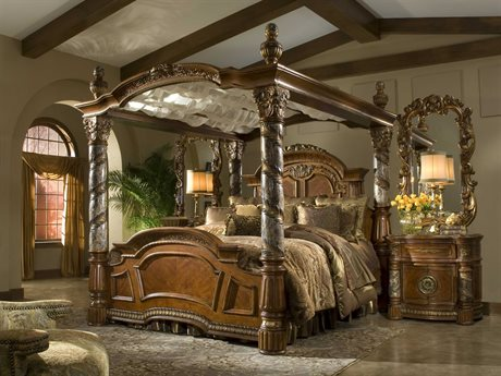 AICO Furniture Villa Valencia Bedroom Set