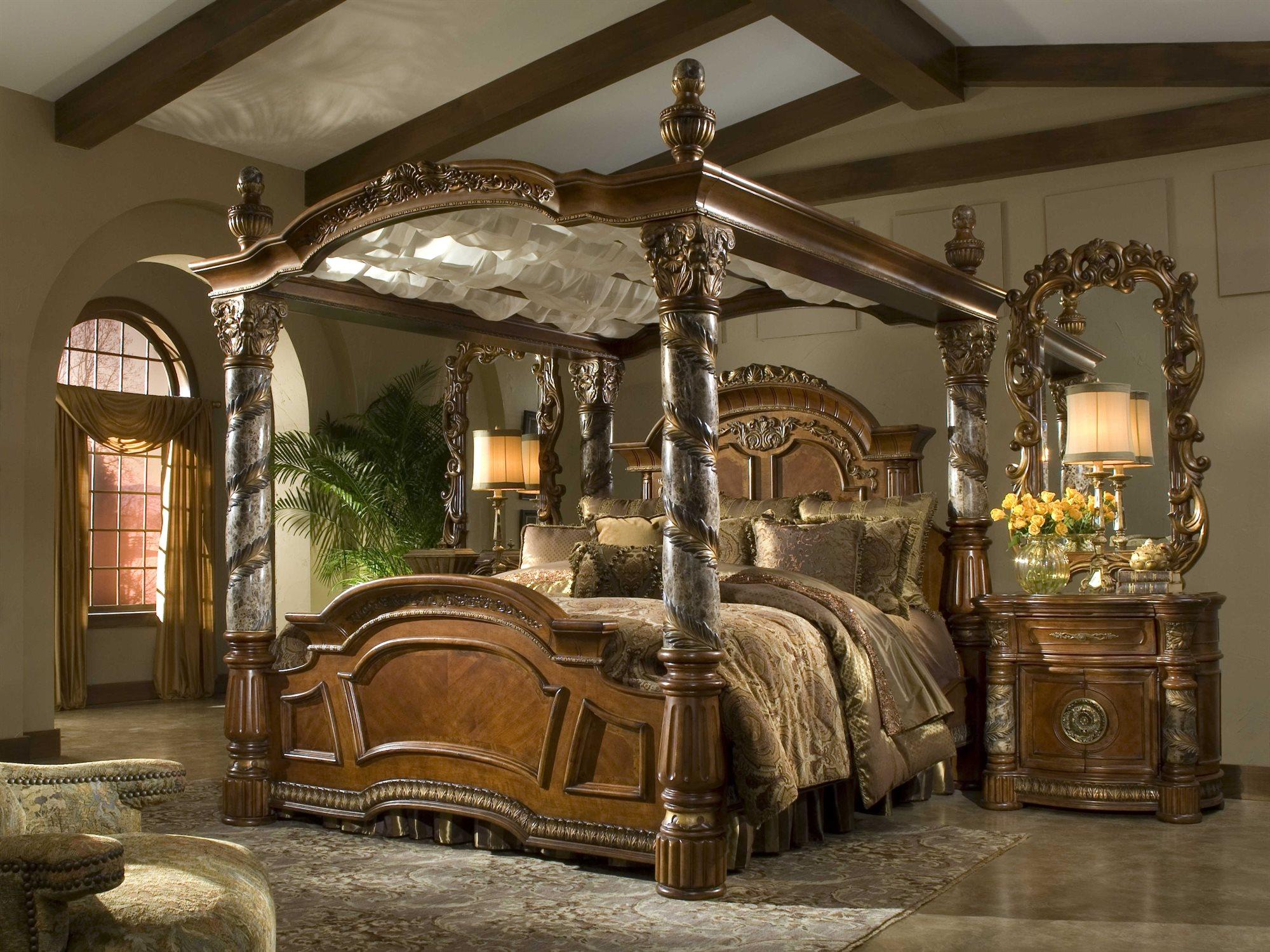AICO Furniture Villa Valencia Bedroom Set