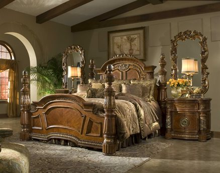 AICO Furniture Villa Valencia Bedroom Set AIC72000EKP55SET
