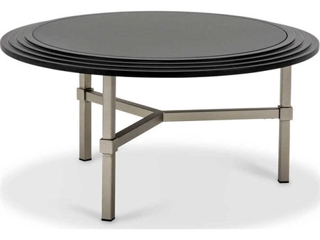 AICO Furniture Vortex 31'' Wide Round Coffee Table AICTRVORTX204B