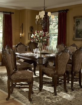 AICO Furniture Windsor Court Dining Room Set AIC7000054SET