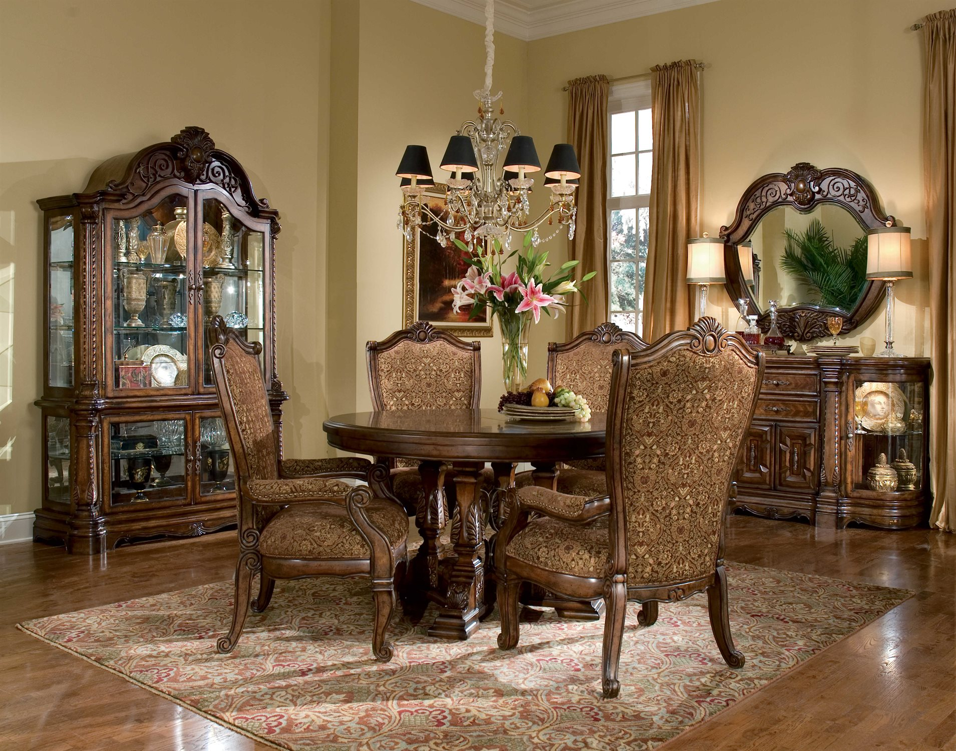 Aico Furniture Windsor Court Dining Room Set Aic7000154set