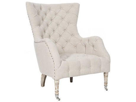 Aidan Gray Barnwood / Cloud Rolling Accent Chair AIDCH500BGCL