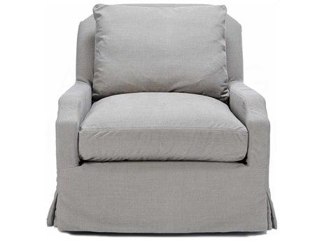 Aidan Gray Linen Accent Chair AIDCH700L