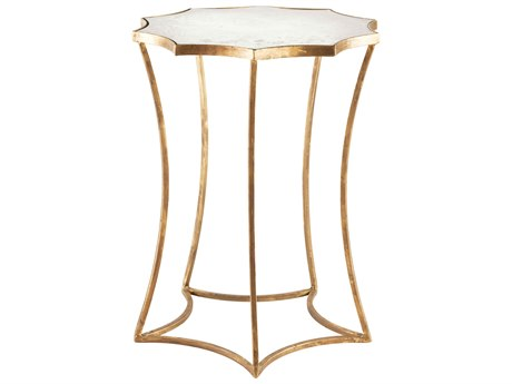 Aidan Gray Astre 17'' Wide Round End Table AIDF187