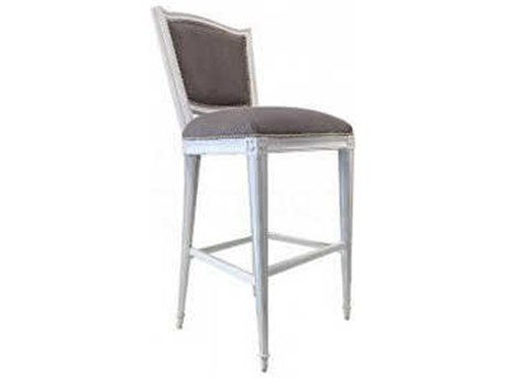 Aidan Gray Waxed White / Touch Side Bar Height Stool (Sold in 3) AIDCH476WWTO