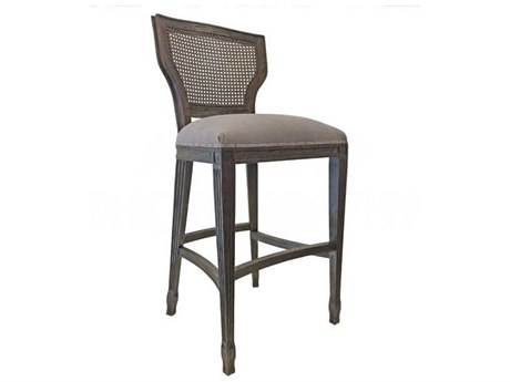 Aidan Gray Burnt Oak / Cement Side Bar Height Stool (Sold in 3) AIDCH478BOCMCB
