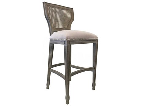 Aidan Gray Nantucket / Cloud Side Bar Height Stool (Sold in 3) AIDCH478NGCLCB