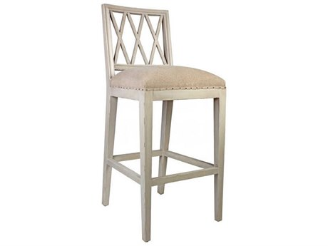 Aidan Gray Antiquegray / Texturedlinen Side Bar Height Stool (Sold in 3) AIDCH657AGTL
