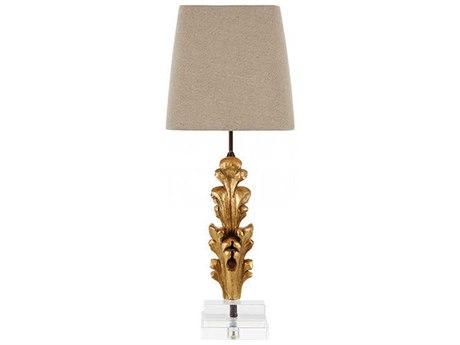Aidan Gray Gold Buffet Lamp AIDL880