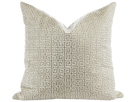 Aidan Gray Champagne No-04 22'' Square Pillow AIDP22CHMPNO4