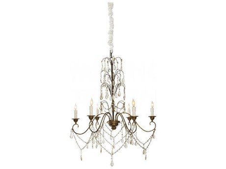 Aidan Gray Guilded Gold 33'' Wide Medium Chandelier