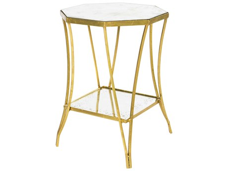 Aidan Gray Cuadrado Two-Tier 16'' Wide Octagonal End Table