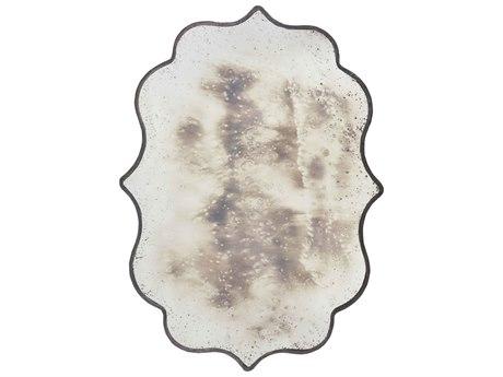 Aidan Gray Cullen Rustic Iron 46''W x 65''H Antique Wall Mirror AIDDM150