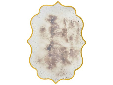 Aidan Gray Cullen Gold 46''W x 65''H Antique Wall Mirror AIDDM150GOLD