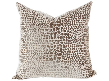 Aidan Gray Fawn No-2 Silver 22'' Square Pillow AIDP22FWNNO2