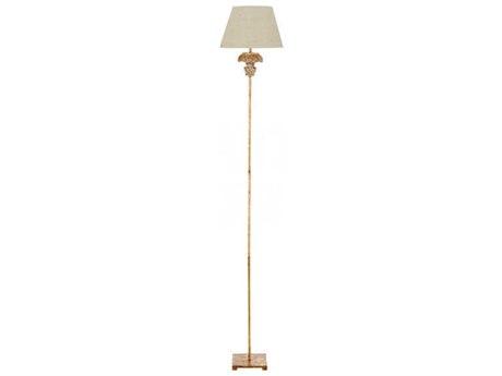 Aidan Gray Distress Gold Floor Lamp AIDL879