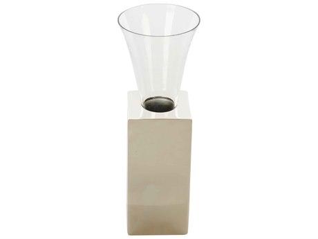 Aidan Gray Floral Element No.1 Nickel Vase (Sold in 4) AIDG300NKL