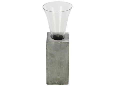Aidan Gray Floral Element No.1 Zinc Vase (Sold in 4) AIDG300ZINC