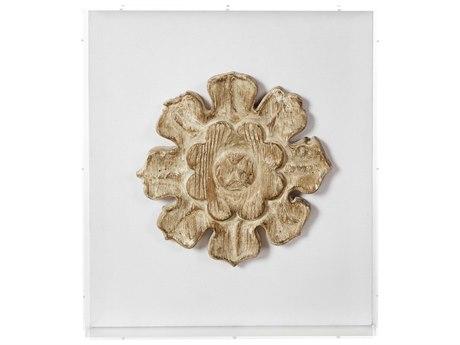 Aidan Gray Fragment No-09 Distressed Gold Shadow Box AIDD704