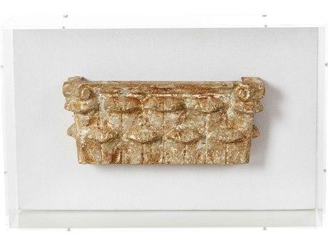 Aidan Gray Fragment No-04 Distressed Gold Shadow Box AIDD711