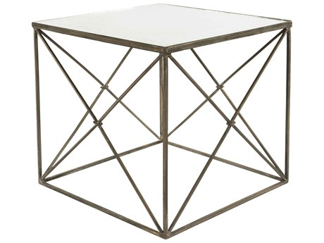 Aidan Gray Furano 22'' Wide Square End Table AIDF291