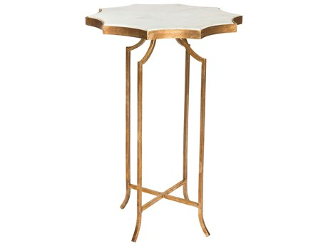 Aidan Gray Giusti Marble 17'' Wide Round End Table