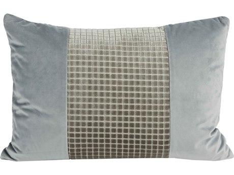 Aidan Gray Hampton No-6 Blue 20'' x 14'' Rectangular Pillow AIDPL14HMTNNO6