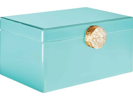 Aidan Gray Tiffany Blue Large Holly Jewelry Box (Sold in 2) AIDD611