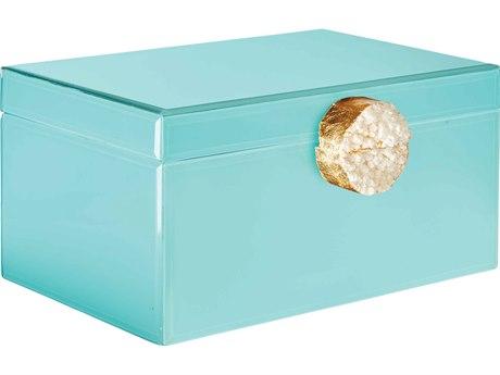 Aidan Gray Tiffany Blue Small Holly Jewelry Box (Sold in 2) AIDD612